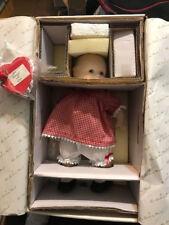 "KEWPIE BE MINE DOLL 12"" PORCELAIN DANBURY MINT IN LOVE VALENTINE RED MINT IN BOX"
