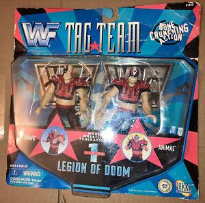 WWF WWE Jakks Legion Of Doom Hawk Animal Tag Team 1 Figures Road Warriors NEW