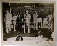 ORIGINAL 1950's 8x10 Publicity Photo Tiny Bradshaw & His Orchestra Soul