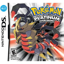 Nintendo DS Pokemon Platinum Version Role-Playing Video Game