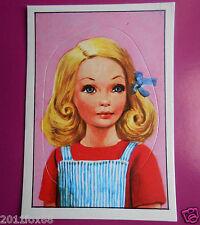 figurines prentjes cromos stickers picture cards figurine barbie 171 panini 1976