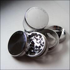 "Space Case Herb & Tobacco Grinder  Medium 2.5"" Inch 4 Piece Sifter Aluminum"