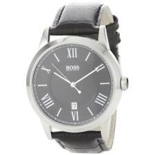 Hugo Boss Boss Black Leather Strap Black Dial Men's watch #1512429 [Watch] Hu...