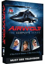 Airwolf The Complete Series DVD Set TV Show Collection Lot Action Episodes Video