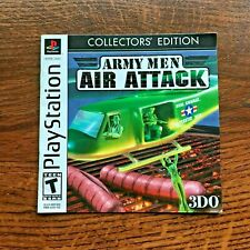 Army Men Air Attack PS1 Playstation 1 PS One Instruction Manual Only