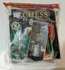 DC Chess Collection #34 Wonder Woman White Queen Eaglemoss Chessboard included