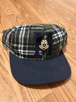Mickey Mouse Hat Vintage 90s Disney Snapback Plaid Embroidered Logo Aaliyah Cap