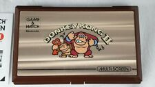 Nintendo Game & Watch Donkey Kong 2 probado JR-55 varias pantallas II en Caja