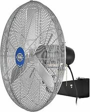 Wall Mount Oscillating Shop Fan Factory Garage 30 inch Diameter Industrial New