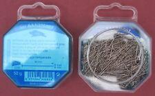 30mm x 0.60mm 50g FINE CARBON / HARD STEEL DRESSMAKERS , DRESSMAKING PIN