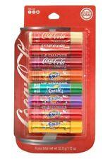 Coca Cola Lip Balm 8 Pack Lip Smacker 50273 Fanta Coke Sprite Vanilla Fruit