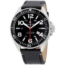 Tommy Hilfiger Declan Movimiento de Cuarzo Esfera Negra para Hombre Reloj 1791131