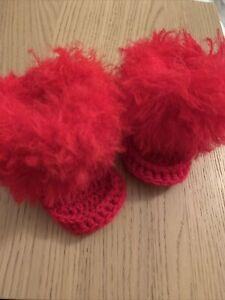Baby Häkel Stiefel 0-6 Monate Süß und Trendy