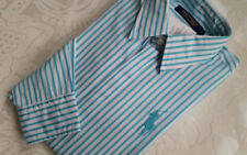 Ralph Lauren Damen Hemd Bluse  38 & 40  aqua ocean pony  NEU