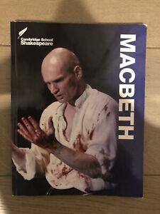 Macbeth Cambridge School Shakespeare Edition