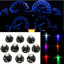 10x T4 T4.2 Neo Wedge Blue Car Instrument Cluster Panel Lamps Gauge LED Bulbs