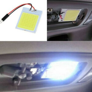 Universal 1× Car T10 4W 48 SMD LED HID Dome Map Light Bulb Interior Panel Lamp
