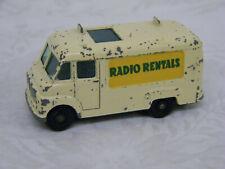 Vintage TV Service Van Matchbox #62 England Lesney