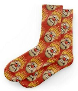 NEW!Heat Miser / A Year Without A Santa Claus Inspired Socks SIZE Unisex Adult