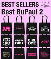 Best RuPaul 2 Tote Shopping Gym Beach Bag Sassy TV LGBT Equality Gift Present