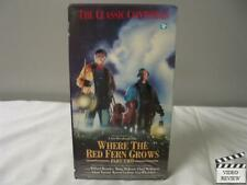 Where the Red Fern Grows - Part Two VHS Doug McKeon