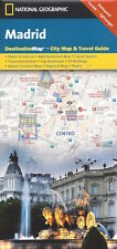 National Geographic Madrid City Map (Spain) *FREE SHIPPING - IN STOCK - NEW*