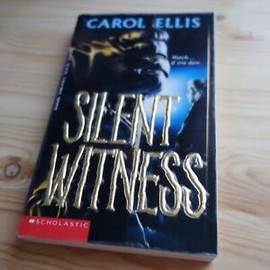 SILENT WITNESS POINT HORROR 1994 MYSTERT THRILLER Fiction Young Adult Horror PB