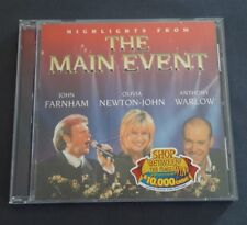 OLIVIA NEWTON-JOHN JOHN FARNHAM ANTHONY WARLOW THE MAIN EVENT CD