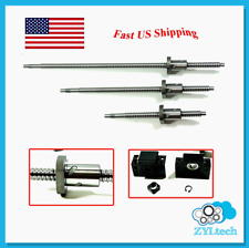 ZYLtech Precsion (TRUE C7) 16mm Ball Screw 1605 w/ BF/BK12 End Support - 700mm