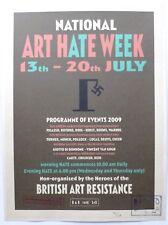 Billy Childish - Art Hate week   2009 NUMBERED VINTAGE 2009 ART PRINT 18/20