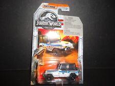 Matchbox Jeep Wrangler 93 #9 Jurassic World 1/64