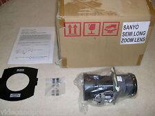 SANYO LNS-M01E M01Z *BNIB* LCD PROJECTOR SEMI-LONG ZOOM LENS LNS-M01 PLC-EF XF