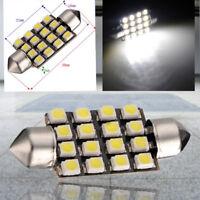 10X blanc voiture Interieur dome C5W SMD 16 LED feston Ampoule Lampe 12v 39mm No