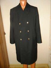 USSR Soviet army military sea long coat KGB coast guard Lieutenant officer 198X