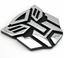 Hot Transformers Autobot 3D Logo Emblem Badge Graphics Decal Car Sticker Decals