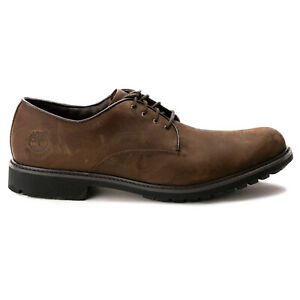 Timberland Mens Shoes Stormbucks Oxford Low-Profile Lace-Up Nubuck Leather