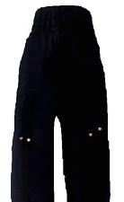 Indian Aladdin Boho Hippy Baggy Gypsy Ali Baba Black Harem Pants Genie Trousers
