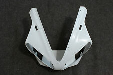 ABS Plastic Unpainted Upper Fairing Front Nose for YAMAHA YZF R1 2000 2001 00 01