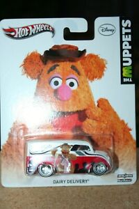 2013 HOT WHEELS Premium Pop Culture Disney The Muppets Dairy Delivery VHTF