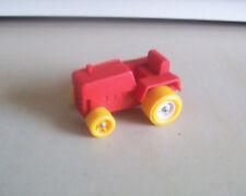 Vikingplast Sweden vinyl rubbery plastic farm tractor red