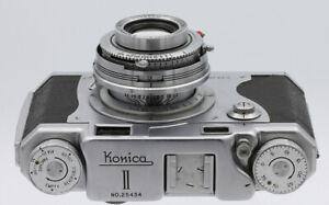 KONICA II N°25434 Tokyo Japon Vers 1951 Objectif KONISHIROKU 2,8/50 mm