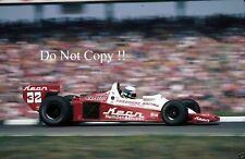 KEKE ROSBERG Theodore RACING WOLF WR3 GERMAN GRAND PRIX 1978 fotografia 2