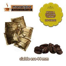 Caffè in 200 Cialde Compatibili - Miscela Esclusiva Strong - Caffè Monorigine
