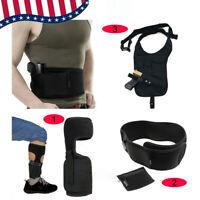 Concealed Hidden Leg Ankle /Waist/Shoulder Holster for Pistol gun carry bag