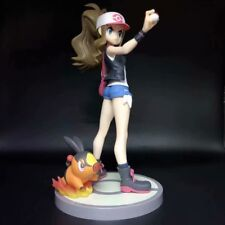 Anime Pokemon Touko with Pokabu Figure 1/8 PVC Statue Toy No Box