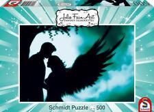 SCHMIDT JIGSAW PUZZLE ANGEL LOVE JULIE FAIN 500 PCS FANTASY #59515