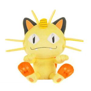 Cute BIG Meowth 9 INCH Soft best Gifts For Anime Cartoon Plush Doll Figure