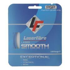 Laserfibre Laser Smooth 17G Tennis String Blue (   Blue )
