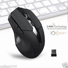 2.4GHz Mice Optical Mouse Cordless USB Receiver Wireless For Laptop Computer PC