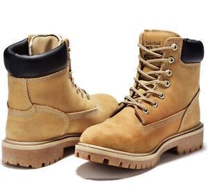 "Timberland PRO Women's Direct Attach 6"" Steel-Toe Waterproof Insulated Work Shoe"